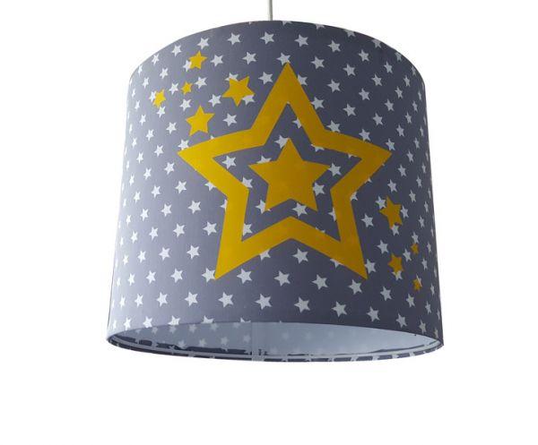 """♥ XL Kinderzimmerlampe Lampenschirm """"Sterne"""" ♥"""