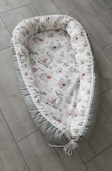 "♥ Babynest ""Magnolie"" Pastell Blume ♥"