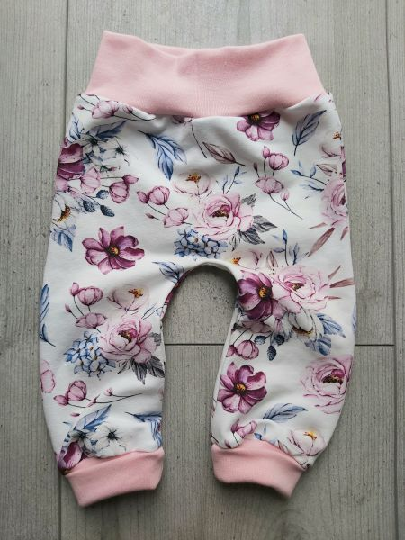 "♥ Schlupfhose ""Lilo"" Flowers pastell ♥"