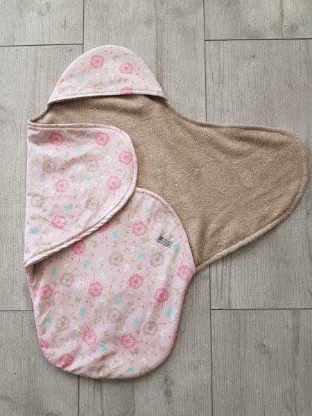 """♥ Einschlagdecke für Babyschale """"Pusteblume"""" Frottee ♥"""