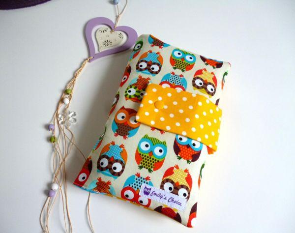 ♥ Windeltasche Wickeltasche Owls ♥