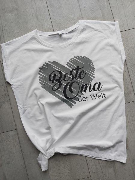 """♥ OMA Statement-Shirt """"Beste Oma der Welt"""" T-Shirt Geschenk ♥"""